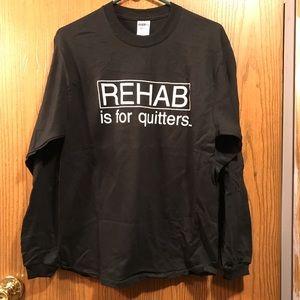 Black REHAB Tee (unisex)